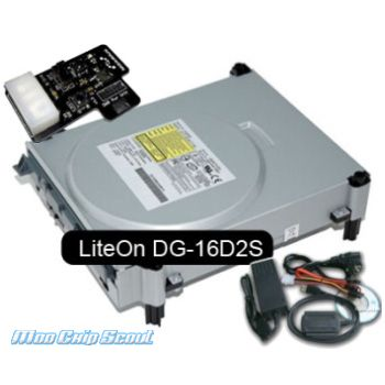 XBox 360 DVD-ROM LiteOn mit 0800 v3 Firmware Komplettpaket